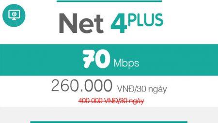NET 4 Plus- 70Mbps