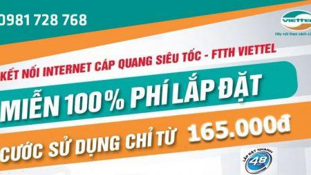 Tư vấn miễn phí lắp mạng và truyền hình Viettel tại Quảng Ngãi