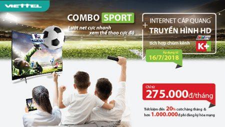 COMBO SPORT – Lướt net cực nhanh, xem thể thao cực đã