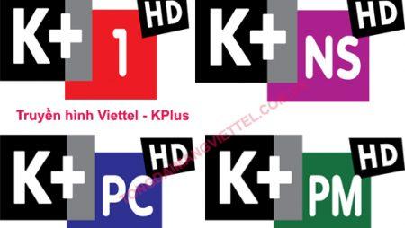 Combo internet cáp quang tốc độ cao cùng truyền hình K+ mới nhất từ Viettel