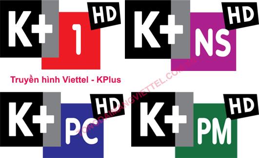 gói cước truyền hình Viettel và k+