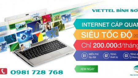 Lắp mạng và truyền hình HD Viettel tại huyện Bình Sơn | 0981 728 768