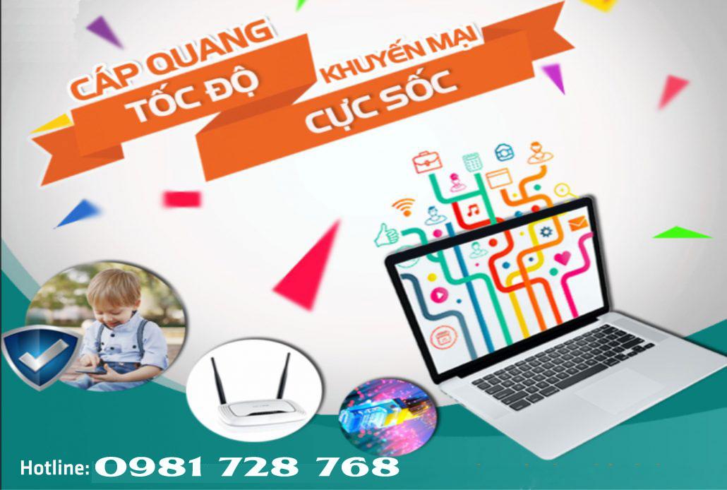 Dịch vụ internet và truyền hình Viettel huyện Sơn Hà, Quảng Ngãi