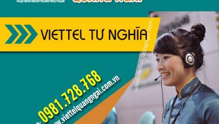 Đăng ký lắp mạng wifi cáp quang huyện Tư Nghĩa khuyến mãi mới nhất!