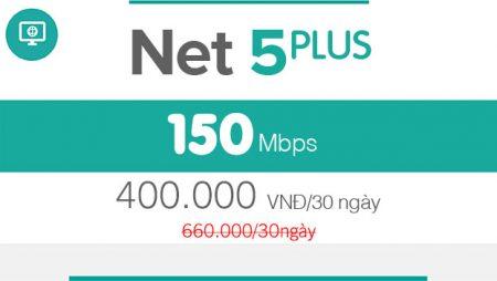 NET 5 – 150Mbps